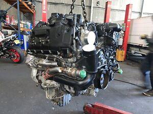 RANGE ROVER VOGUE L405, 4.4SDV8,4.4TDV8 COMPLETE ENGINE 448DT 2013-2015 29k