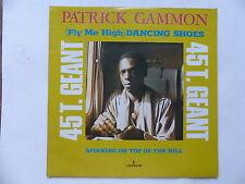 "MAXI 12"" PATRICK GAMMON Dancing shoes 9199 972"