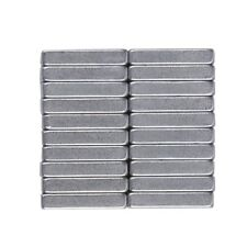 20Pcs 10 mm x 5 mm x 3mm Neodymium Block Magnet Super Strong Magnets Craft N35