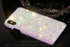 Bling Diamond Real Rhinestone Crystal Case Hard Cover Skin For Apple iPhone