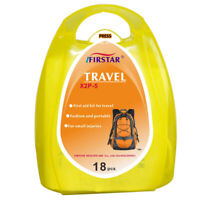 Mini First Aid Travel Kit (18 Pcs) Camping Hiking Holiday Vacation IFAK EMT EMS
