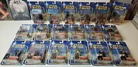 NEW 2002 Star Wars SAGA (Blue Card) U-Pick Collection 1 & 2 MOC sold seperately