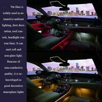 PMMA Side Glow Optic Fiber Cable 1.5-4mm For Car LED Lights Decoration