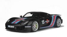 1/12 GT Spirit Porsche 918 Spyder Matte Black Martini ZM084
