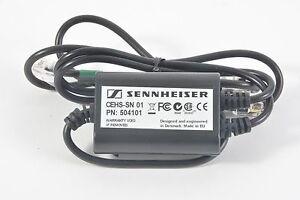 Sennheiser CEHS-SN01 Téléphone Câble Adaptateur pour Snom Téléphones - Neuf