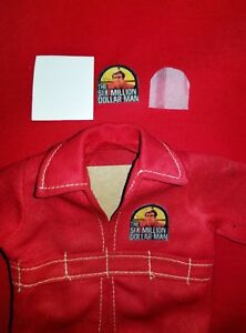 Six Million Dollar Man Repro Patches For All Suits and Clothing (Kit)