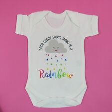 After every storm there is a rainbow Baby vest Miracle Baby Newborn Baby