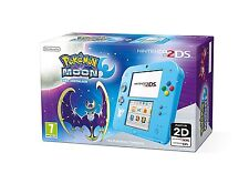 Blu Chiaro POKEMON MOON pre-installato-Nintendo 2ds-Brand New & Sealed