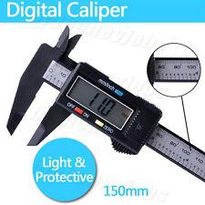 Pie de rey 150mm electrónica digital LCD Micro instrumento de medición aliper es