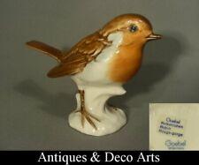 Goebel Porzellan Vogel Figur Rotkehlchen
