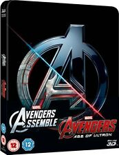 Avengers Double Pack - Limited Edition Steelbook (Blu-ray 2D/3D) Age of Ultron