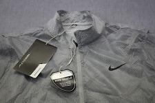 NIKE Golf Hyperadapt Mens Gray Repels Water Stretch Windwear Jacket NWT  XL $125