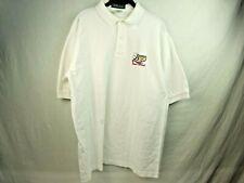 Vintage Mens Large Purdue Boilermakers 2001 Football Rose Bowl Golf Shirt White