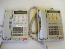 LOT OF 2 PANASONIC CORDED TELEPHONE KX-T2366  BUSINESS PHONE 28 STATION SPEAKER