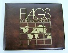 1981 Flags Of The United Nations Complete Collection of Four Mint Sheetlets