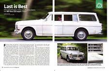 1967 VOLVO 122S WAGON ~ GREAT 4-PAGE ARTICLE / AD
