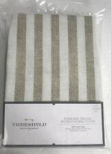 New Threshold Cream And Tan Striped Standard Padded Ironing Board Cover Cotton