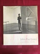 John Paul Jones Survey Exhibition 1950-1983 Catalog book rare Printmaker Painter