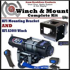 KFI 3000 lb Winch Combo Polaris Sportsman 550 850 XP & 2011-2017 (100740)