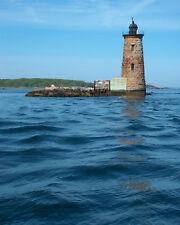 Whaleback Lighthouse Kittery Maine Portsmouth New Hampshire Fine Art 8x10 Print