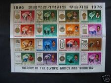 SERIE   16  SPORTS    JEUX   OLYMPIQUES    COREE  1978