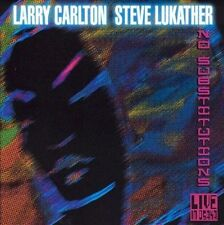No Substitutions: Live in Osaka by Larry Carlton & Steve Lukather (CD, Mar-2001)