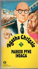 AGATHA CHRISTIE= Parker Pyne indaga=GIALLI OSCAR MONDADORI=4/1982
