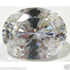 8.00 x10.0 mm 3.00 ct OVAL Cut Sim Diamond, Lab Diamond WITH LIFETIME WARRANTY