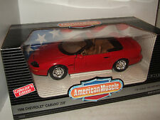 ERTL American Muscle 1996 Chevrolet Camaro Z28 Diecast Model in 1:18 Scale.