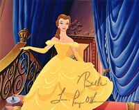 PAIGE O'HARA SIGNED 8x10 PHOTO BELLE BEAUTY AND THE BEAST DISNEY BECKETT BAS