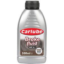 Carlube Car Brake & Clutch Fluid DOT 5.1 Synthetic Based SAE J-1704 500ml