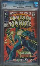 Marvel Super-Heroes #13 CGC 8.5 1st Carol Danvers