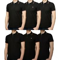 NEW MENS KEDAR POLO SHIRT SHORT SLEEVE PLAIN PIQUE DESIGNER SLIM FIT T-SHIRT