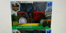 Country Life Die Cast Tractor with Plastic Collect Them All Red