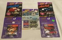 Lot of Vintage Johnny Lightning 1:64 Diecast Cars Classic Gold Hotrods All New