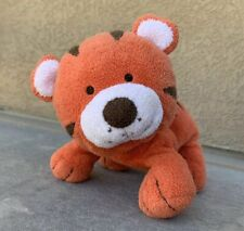 Carter's Just One You Orange Tiger Plush Baby Lovey Beans Floppy Standing Laying