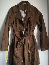 Street One Mantel Trenchcoat Jacke in braun, Gr. L 40 neuw.