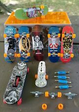 Circuit Boards Tony Hawk Birdhouse Fingerboard Lot of 6 plus Extras Tools Wheels