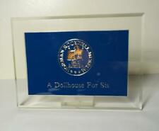 New ListingNorman Rockwell Museum - Seal of Authenticity Plaque - A Dollhouse for Sis