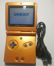Nintendo Game Boy Advance SP - Pokemon Torchic limited edition + NEW USB cable