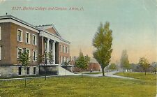 1912 Buchtel College and Campus, Akron, Ohio Postcard
