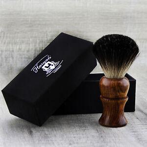 BRAND NEW - 100% PURE BADGER HAIR SHAVING BRUSH - Wooden Brush in USA