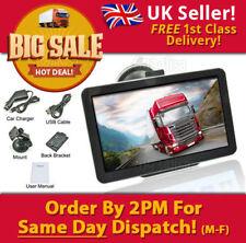 2019 7 Inch truck sat nav caravan/motorhome/car/lorry/hgv, updates and free p&p