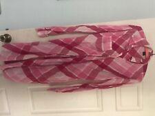 Victoria Secret dress size 12 pink plaid