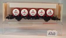 Fleischmann Spur N 8335 Behälterwagen EKU Bier 2-achsig der DB OVP #6360