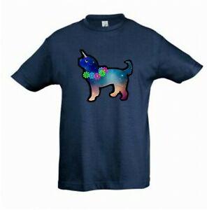 Cockapoo Unicorn Dog Cockerpoo Tee Shirt Childrens Kids Tee Check Measurements