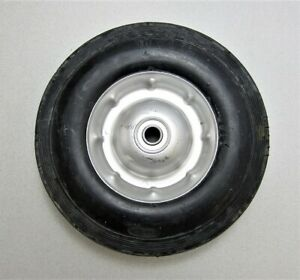"""10"""" x 2.75"""" Solid Rubber Dolly Wheel New"""