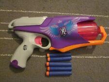 Nerf Rebelle Secrets Spies SPYLIGHT Dart Gun Blaster Revolver Works w Ammo Gun