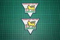 F.A. PREMIER LEAGUE GOLD-CHAMPIONS BADGES 1994-1995
