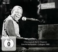 CHAMPION JACK DUPREE - LIVE AT ROCKPALAST COLOGNE 1980 2 CD+DVD NEU